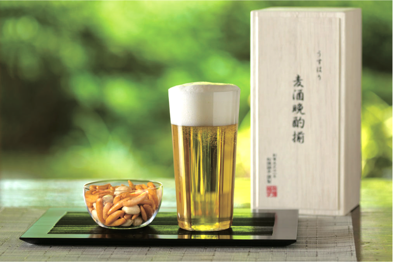 1mm Beer Tumbler & Kaki-P Small bowl | SHOTOKU Glass