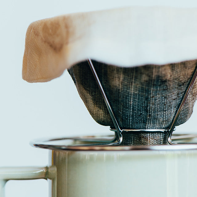 Stainless steel coffee dripper