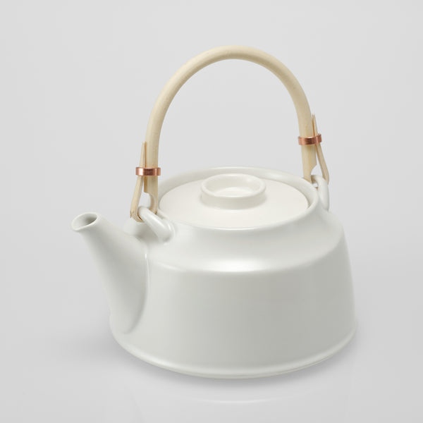 TK Dobin Tea Pot | White
