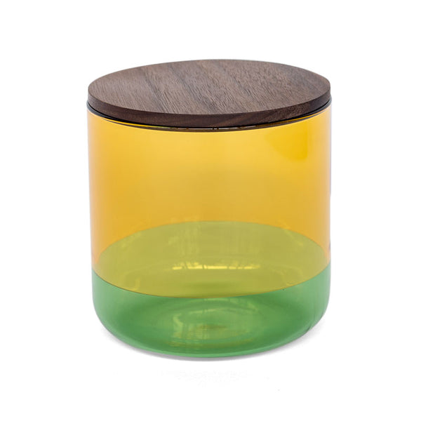 TWO TONE CANISTER (L) | Yellow × Green