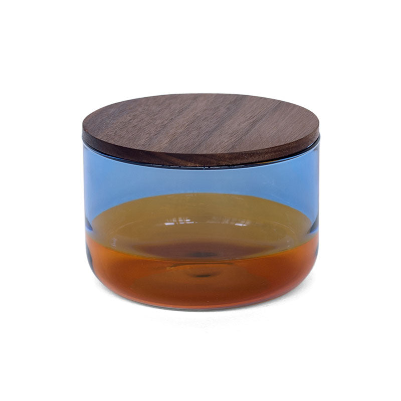 TWO TONE CANISTER (S) | Blue × Amber
