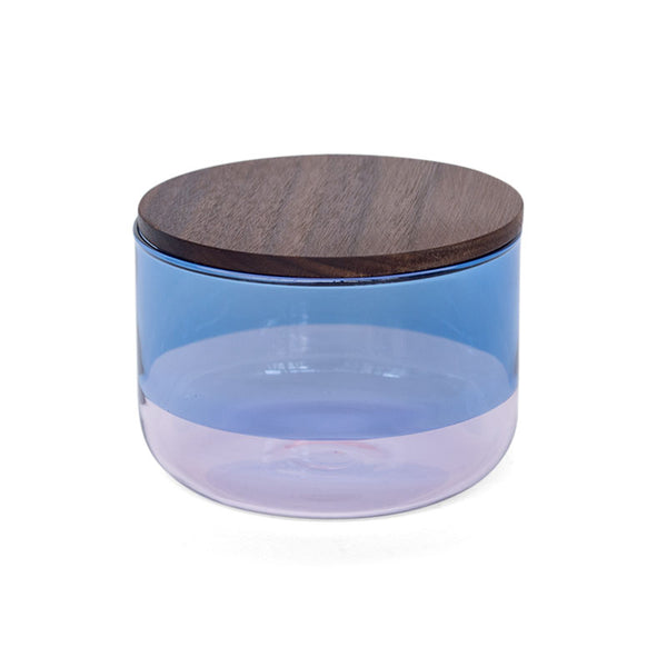 TWO TONE CANISTER (S) | Blue × Pink