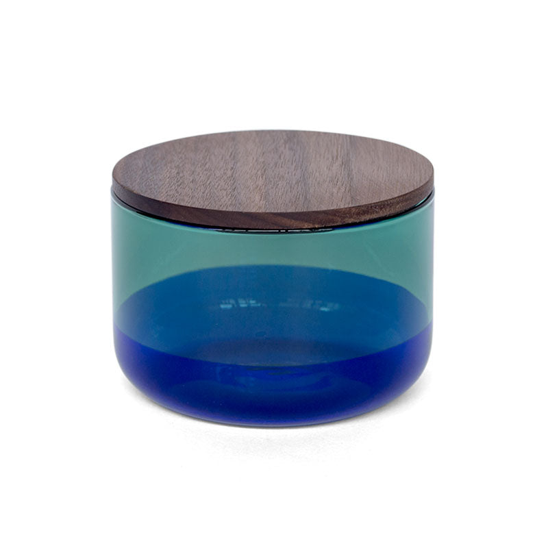 TWO TONE CANISTER (S) | Green × Blue