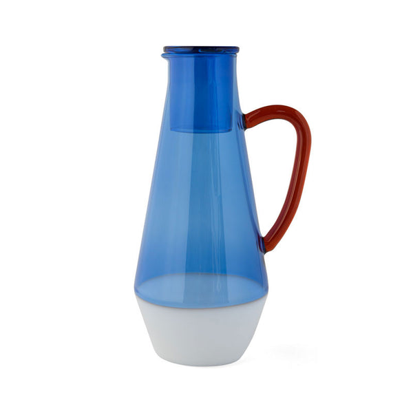 TWO TONE CARAFE | Blue | amabro