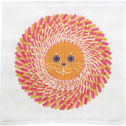 Tea Towel | Lion Orange