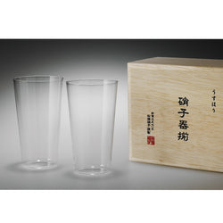 Usuhari Tumbler M 2P w/ box | SHOTOKU Glass