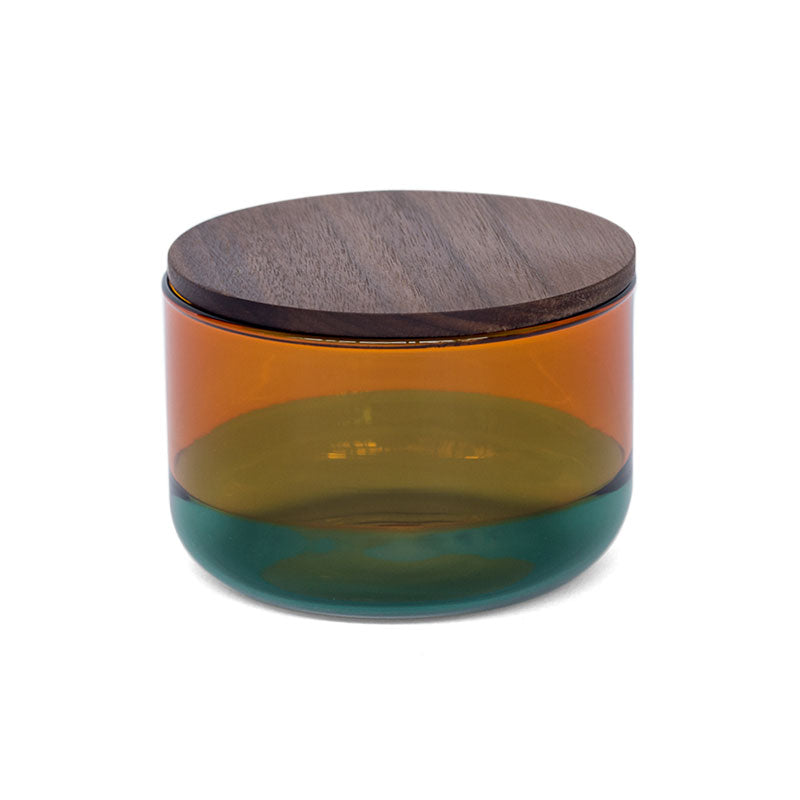 TWO TONE CANISTER (S) | Amber × Green