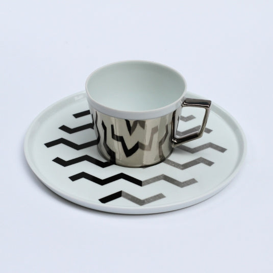Mirror Pop Cup & Saucer | D-BROS (517ZE)