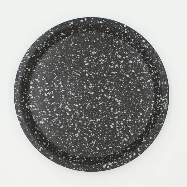 Chips Large Plate Black
