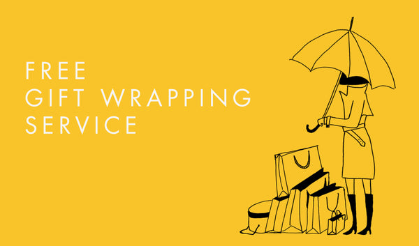FREE Christmas gift wrapping service !