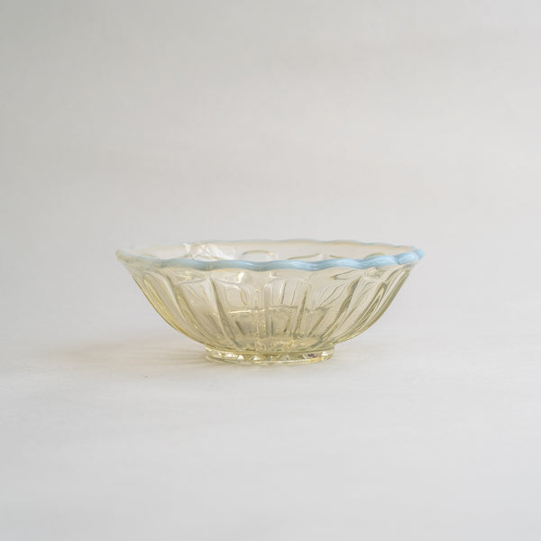Hirota Glass Yuki No Hana Dessert bowl  | Ancient