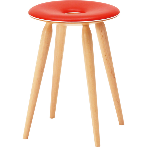 design chair Ring Stool | leather seat | TENDO MOKKO