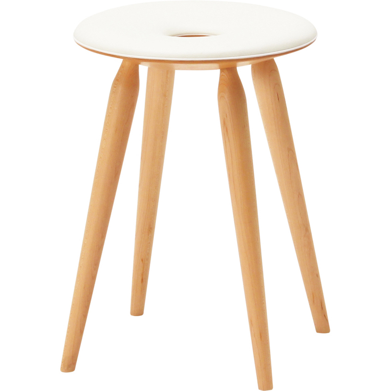 TENDO MOKKO | Ring Stool | leather seat