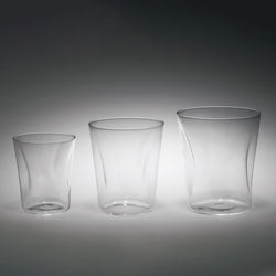 Usuhari SHIWA Crinkled Old Fashioned Glass | SHOTOKU Glass