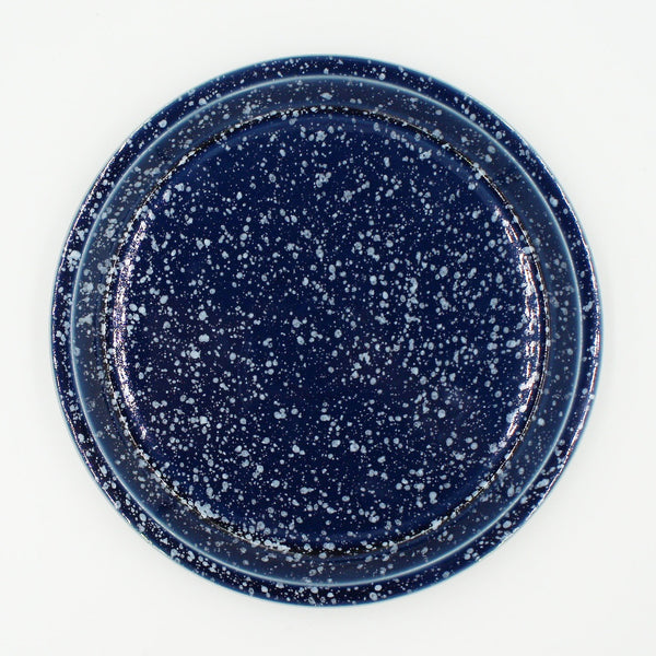 Chips Large Plate Navy