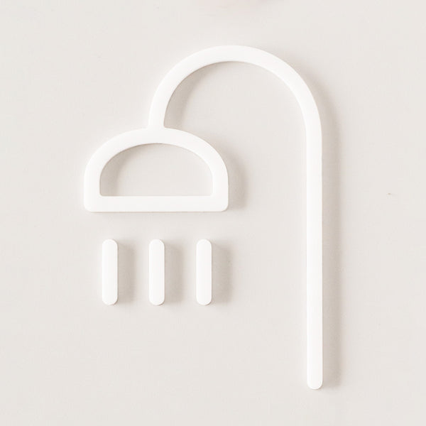 SHOWER INTERIOR SIGN | MOHEIM