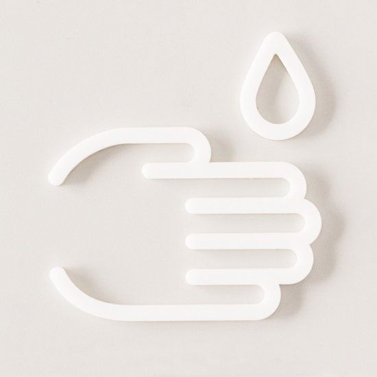 WASH HAND INTERIOR SIGN | MOHEIM