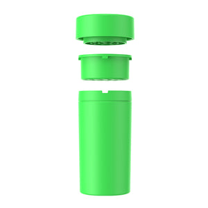 plastic grinder with storage