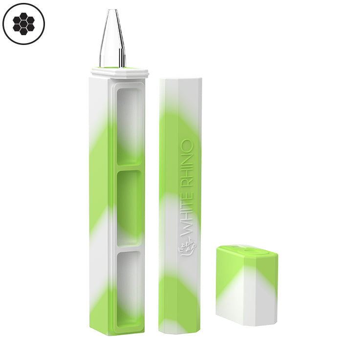 Dab Out Container with Quartz straw Glow in the Dark