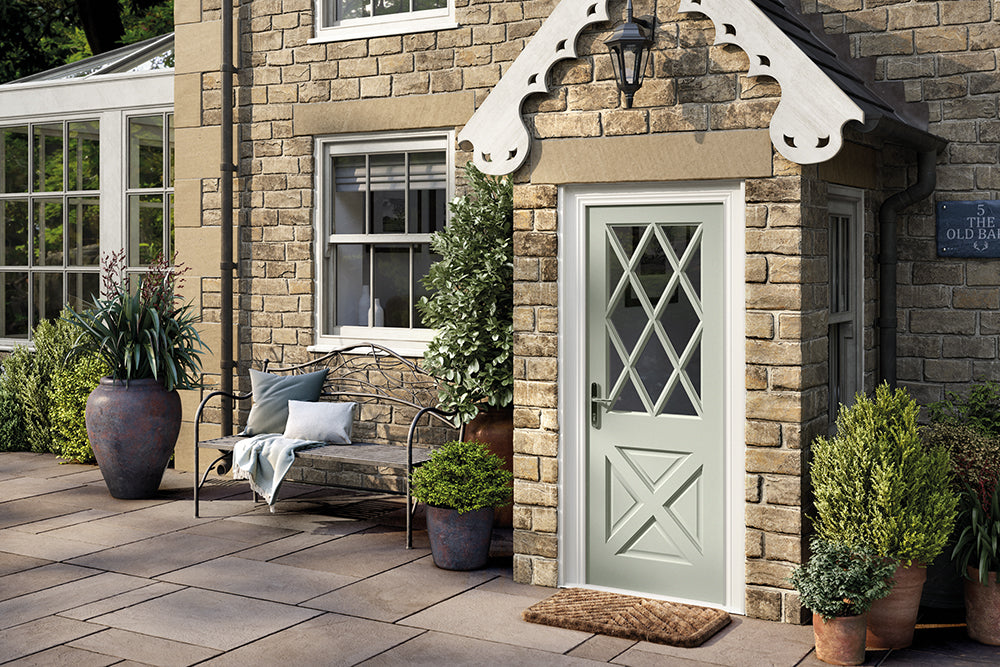Hardwood Antrim M&T External Door