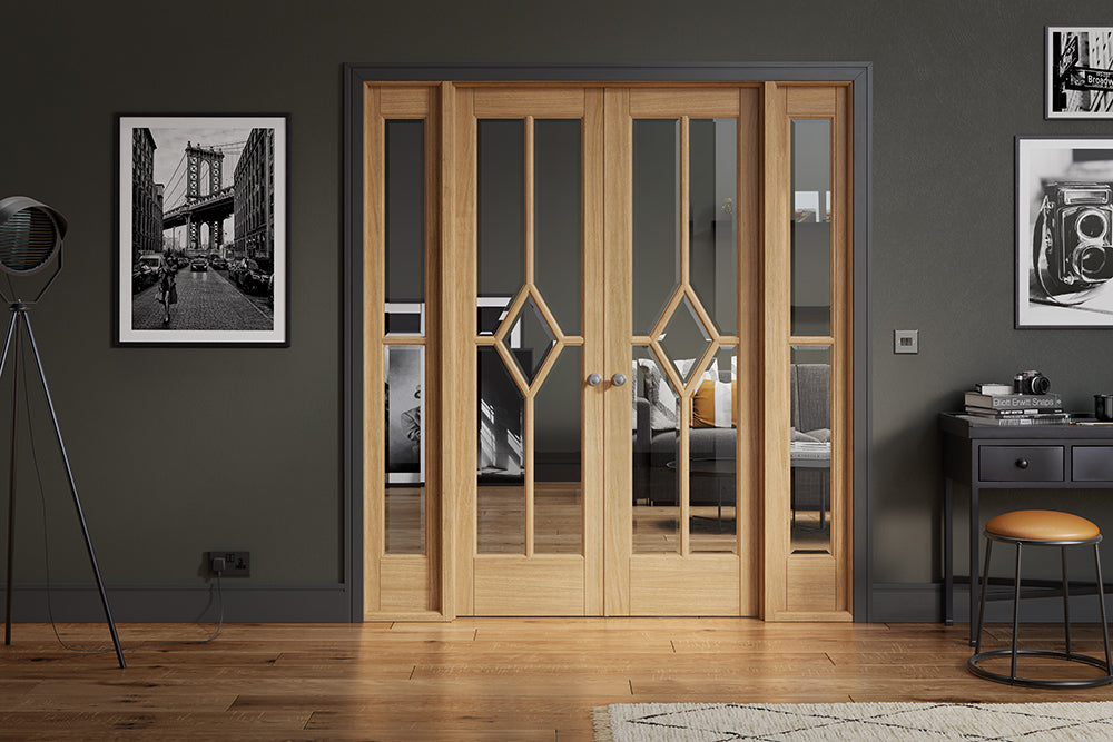 Room Divider Oak Reims W6 Internal Door