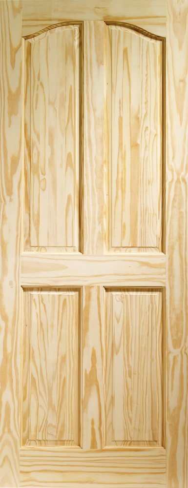 Rio 4 Panel Internal Clear Pine Door