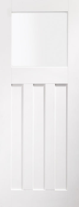 DX Internal White Primed Door with Obscure Glass