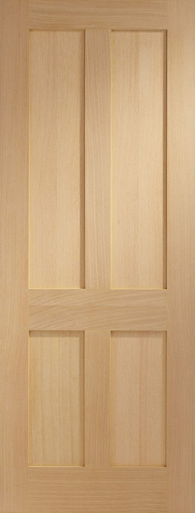 Victorian Shaker 4 Panel Internal Oak Door