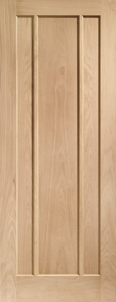 Worcester 3 Panel Internal Oak Fire Door