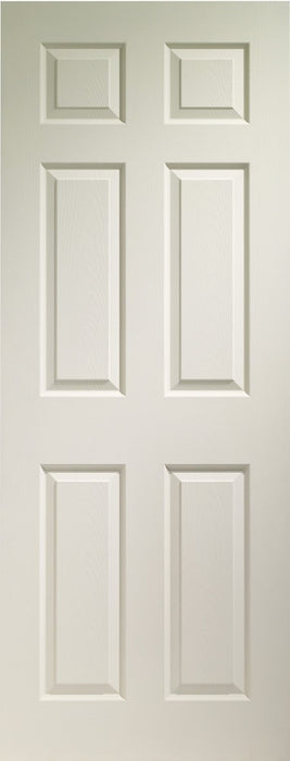 Colonist 6 Panel Internal White Moulded Door