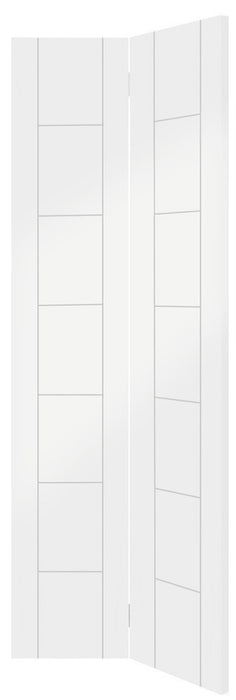 Palermo Bi-Fold Internal White Primed Door