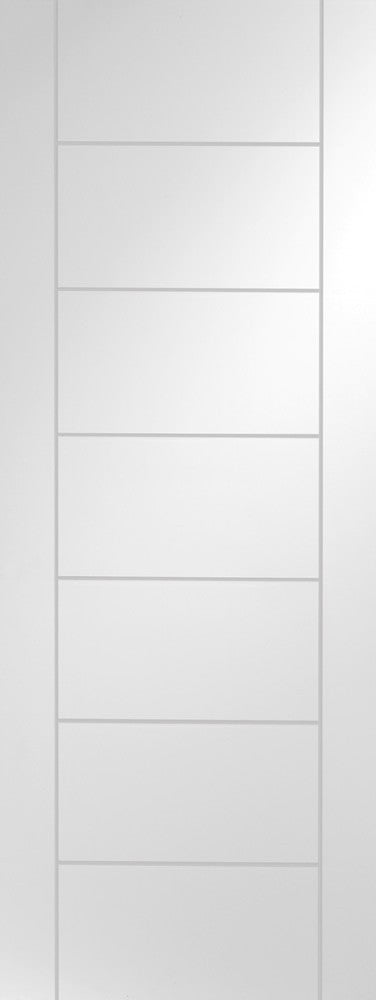 Palermo Internal White Primed Door