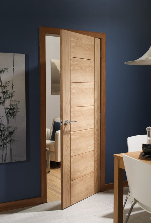 Palermo Pre-Finished Internal Oak Door