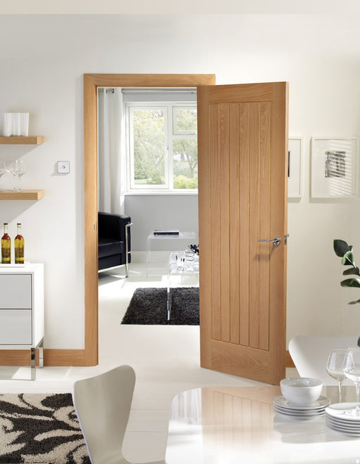 Suffolk Original Pre-Finished Internal Oak Fire Door