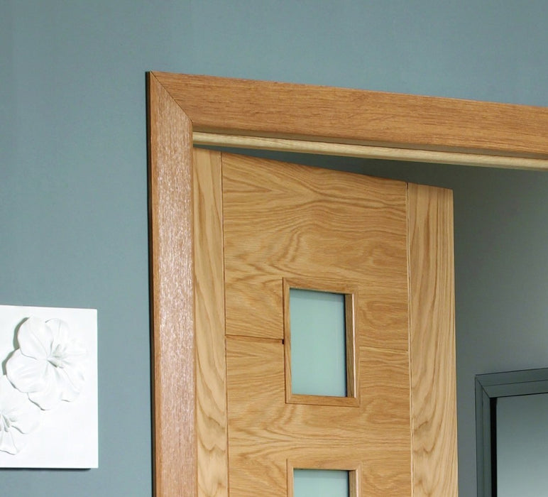 Pre-finished Oak Modern Architrave