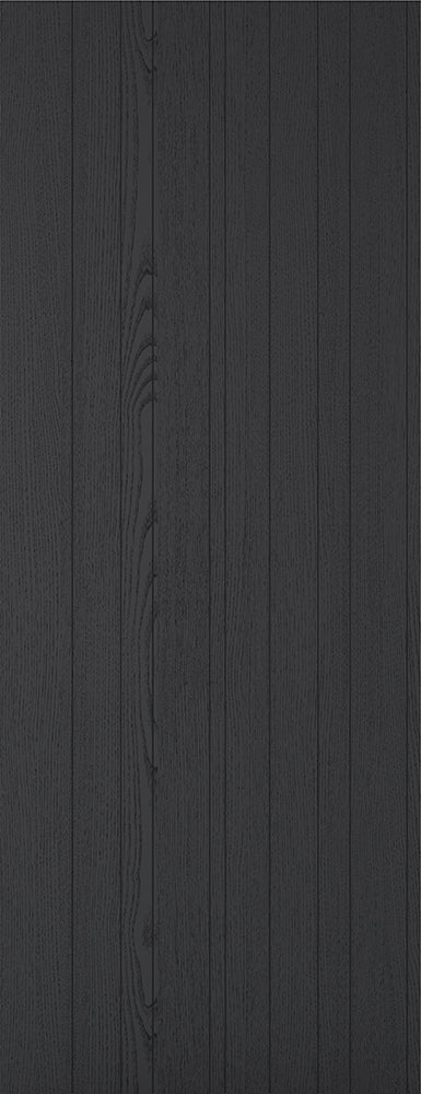 Black Ash Laminate Montreal Internal Door Fire Rated
