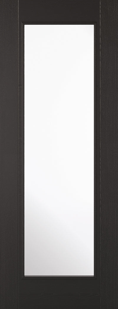 Black Laminated Vancouver 1L Internal Door