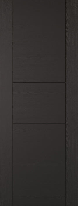 Black Laminated Vancouver Internal Door