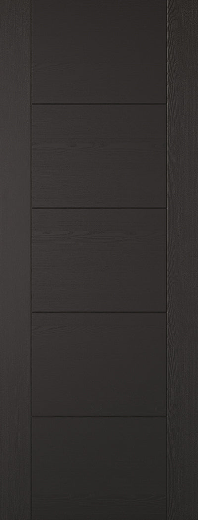 Black Laminated Vancouver Internal Door Fire Rated