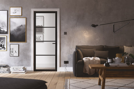Black Soho 4L Internal Door