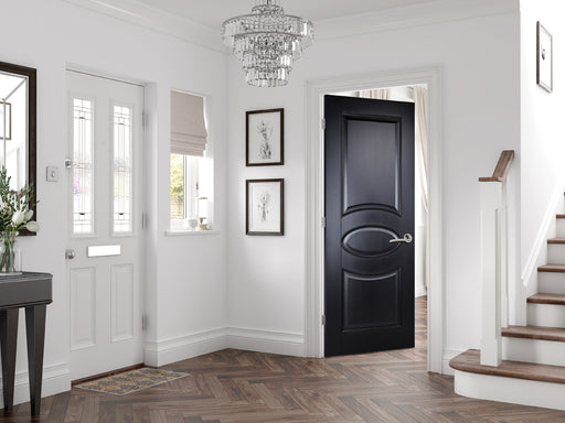 Black Versailles Internal Door