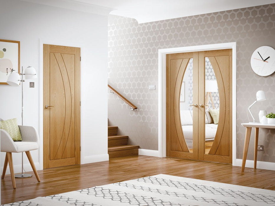 Salerno Internal Oak Fire Door