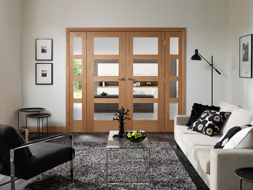 Oak Easi Frame Internal Door System (Excludes Doors)