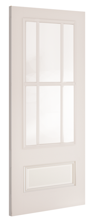 Canterbury White Primed Bevelled Glaze