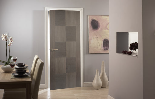 Chocolate Grey Apollo Internal Door Fire Rated