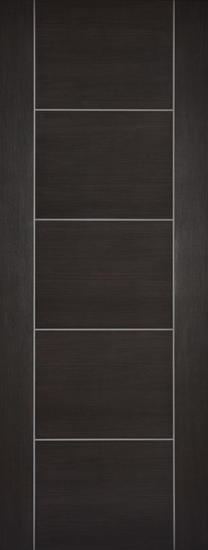 Dark Grey Laminated Vancouver Internal Door Fire Rated
