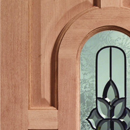 Acacia Double Glazed External Hardwood Door (Dowelled) with Chesterton Glass
