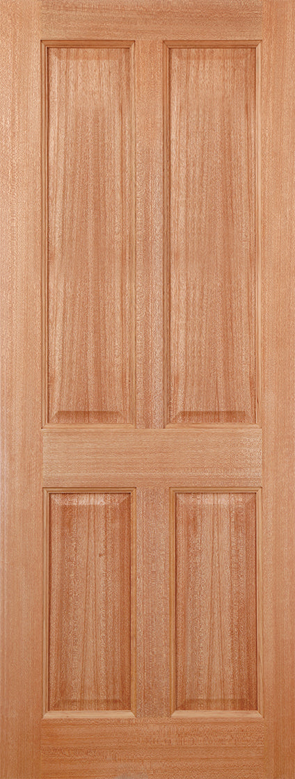 Hardwood Colonial 4P M&T External Door
