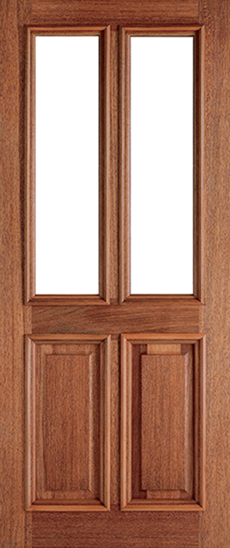 Hardwood Derby Unglazed 2L External Door