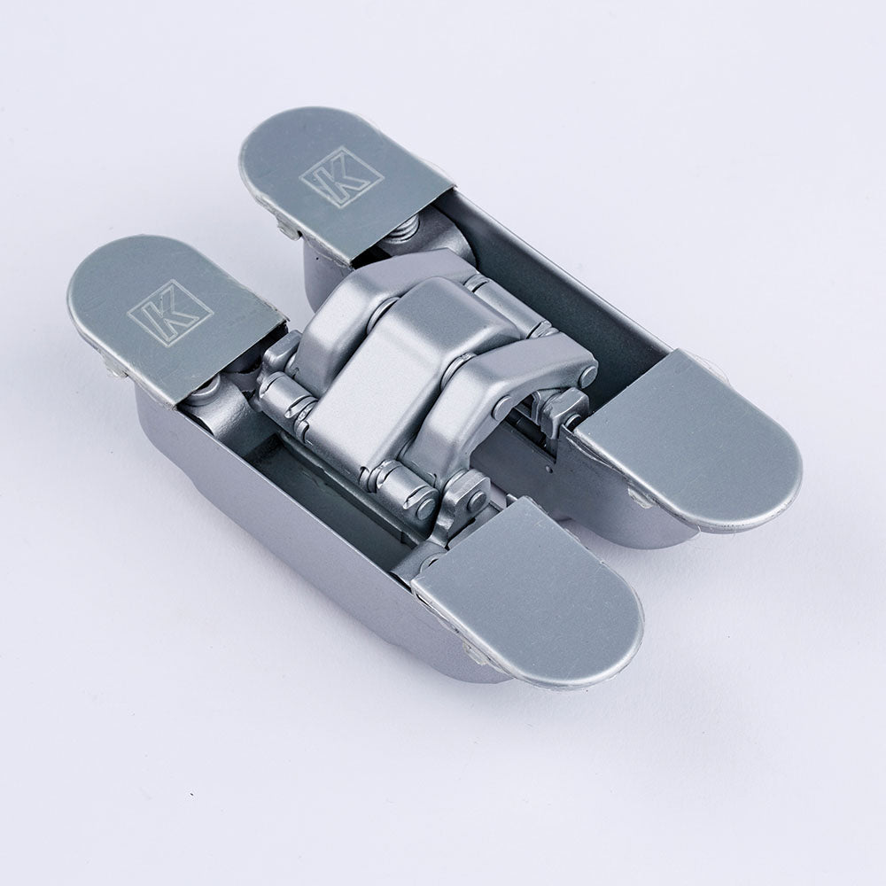 Eclipse Matt Chrome Concealed Hinge (Pack of 2) Ironmongery